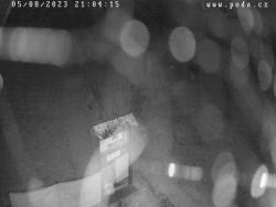 Ski areál Dalečín, kamera pod sjezdovkou 1